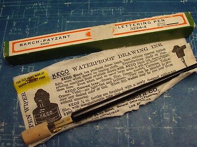 """Vintage KEUFFELL + ESSER """"Barch-Payzant"""" NOS Drafting Tool Pen"""