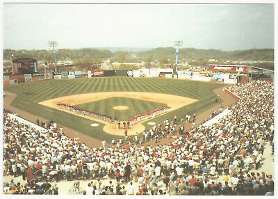 Chattanooga Lookouts Bellsouth Park AT&T Minor League Baseball Stadium Postcard