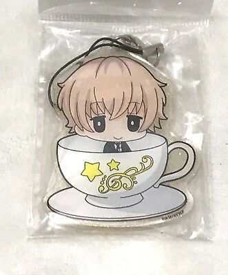 Starmyu, Nayuki Toru Clear Acrylic Glitter Charm, One Sided, 2 x 2.5 Inches