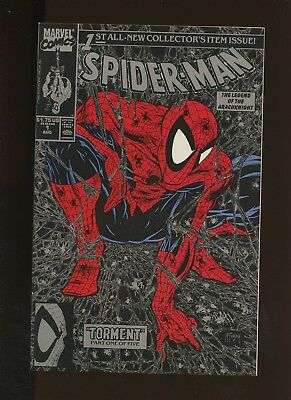 Spider-Man 1 NM+ 9.6 (Silver Cover) (1990s) (McFarlane) * 1 Book Lot * Marvel!