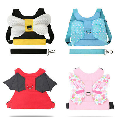 Cute Anti-Lost Baby Kid Child Assistant Walking Leash Safety Harness Strap -BM62