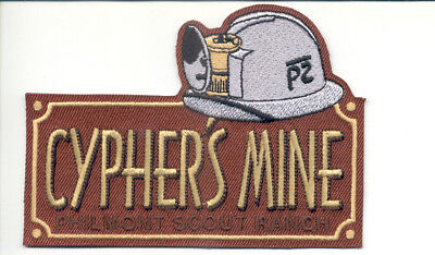 Patch From Philmont Scout Ranch - Outpost -Cypher's Mine