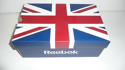 1 Vintage Reebok Retail Store Printed Logo Cardboard Display Empty Shoe Box