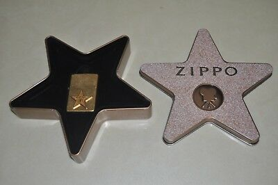 Rare USED 2001 Zippo Lighter Collectible Of The Year Hollywood's Leading Light