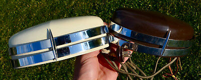 Rare Lot Of 2 Antique Art Deco Hanging Bed Lamps Reading Light