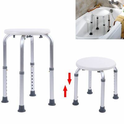 Bath Stool Adjustable Height Shower Aid Healthcare Home Seat Aid Seat Fondlight