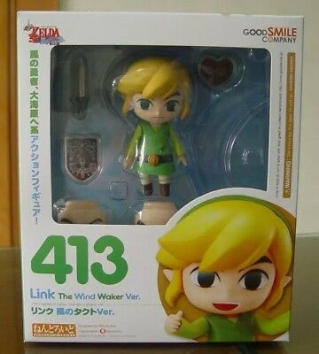 The Legend of Zelda Nendoroid Link the Wind Waker Ver. #413 PVC Action Figure