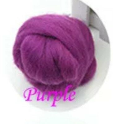 Pointe Shoe Wool Padding, Cushioning, Ouch Pouch, Toe Pads, Many Colours PURPLE