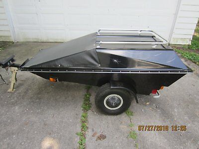 B & F Specialties Inc., motorcycle trailer pull behind