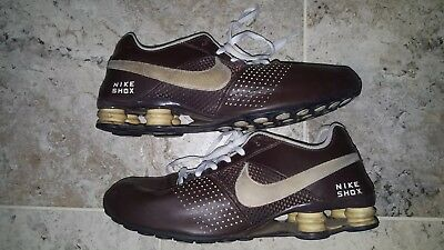 newest collection c3362 d8193 Brown Nike Shox Deliver 2009 Mens Size US11.5 UK10.5 317547-207