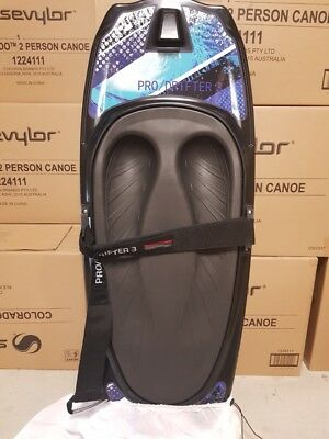 kneeboard CSS prodrifter 3 black pad just arrived with cover+tow hook