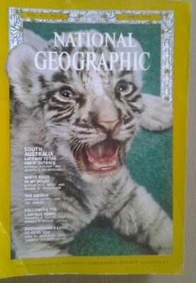 National Geographic Magazine April 1970