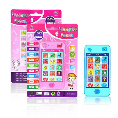 Kids Simulator Music Phone Mobile Phone Educational English/Russian Learning Toy