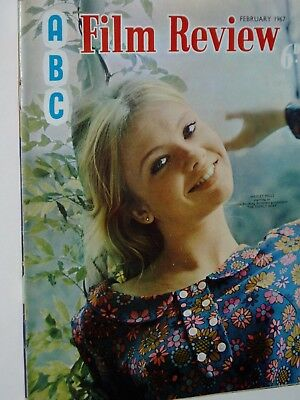 """ABC FILM REVIEW MAGAZINE..(February 1967)...HAYLEY MILLS.""""The Family Way""""  cover"""