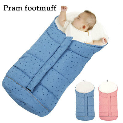 Universal Newborn Baby Toddler Foot muff Cosy Apron Liner Buggy Pram Stroller