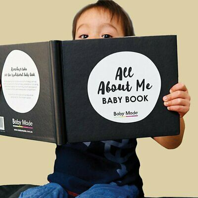 All About Me Gender-Neutral Baby Memory Keepsake Book Baby Shower Birthday