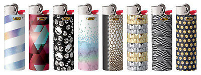 BIC Special Edition Night Out Series Lighters 2018 New Designs Set of 8 Lighters