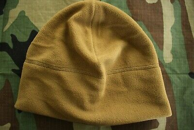 Us Army Gi Cold Foul Weather Combat Ocp Bdu Coyote Brown Fleece Watch Cap
