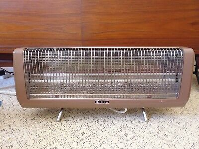 Vintage Hecla Two Bar Radiant Heater - Works well