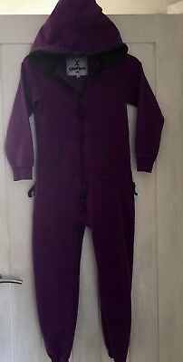 OnePiece Jumpsuit -Kids Age 6-7 Years (purple)