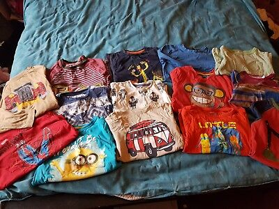 Bundle Boys 5-6 Years Clothes Tops 14 Items