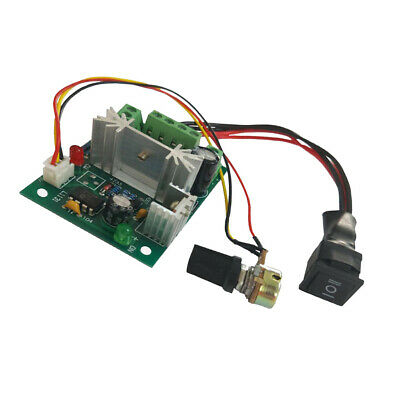 DC 6A Motor Speed Control Reversible PWM Controller DC 6V-30V
