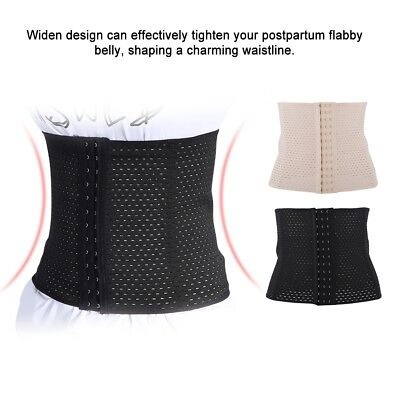 Breathable Postpartum Waist Trainer Belly Girdle Sport Maternity Abdominal Belt