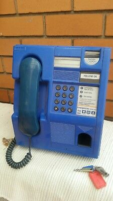 Blue Pay Phone - Telecom - Coin Operated