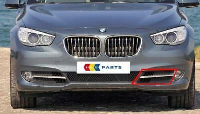 Bmw New Genuine 5 Series Gt F07 09-13 Front Bumper N/S Left Lower Grill 7200735