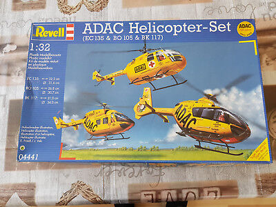 Revell 4441 ADAC Helicopter Set 1/32 OVP