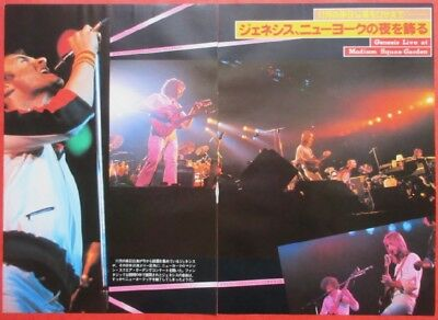GENESIS PHIL COLLINS Mike Rutherford 1978 CLIPPING JAPAN MAGAZINE U1 T15 3PAGE