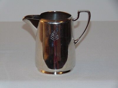 Vintage Antique Silver Plate Hotel Ware Canadian Pitcher Jug