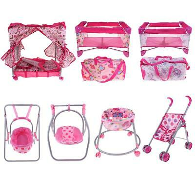 Doll Accessory Furniture Baby Doll Room Furniture Kids Pretend Play Toys