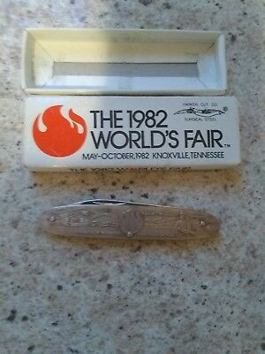 The 1982 World's Fair Pocket Knife, Knoxville TN