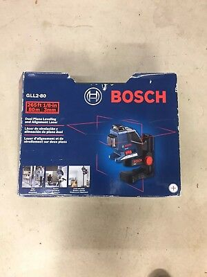 Bosch GLL2 80 and Plane Laser Line Leveling Alignment