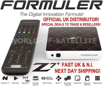 Formuler Z7+ WHITE UHD 4K Android 7.0 Media Streamer IPTV Receiver with WiFi