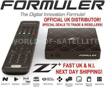 Formuler Z7+ UHD 4K Android 7.0 Media Streamer IPTV Receiver with WiFi
