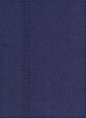 25 count Zweigart Lugana Evenweave Cross Stitch Fabric Navy Blue - size 49x69cms