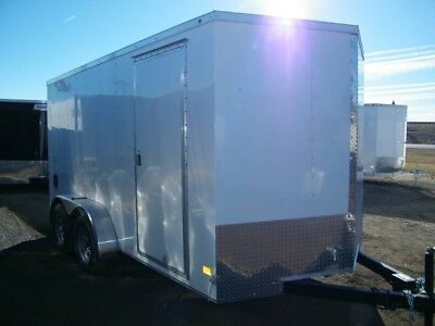 14' V-nose Enclosed trailer by Haulmark