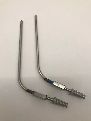2 Pcs Of V Mueller NL1903 4 Frazier Suction Tube 12 FR