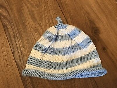 Newborn Hat Blue Prop