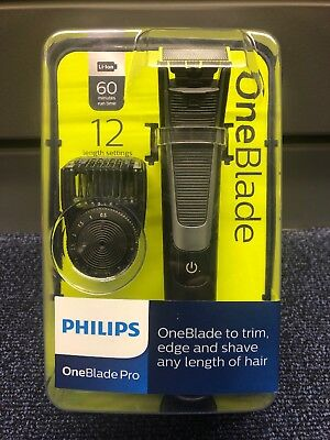Philips Qp6510/25 Oneblade Pro 12 Length Settings Trim Shaver - Brand New Boxed