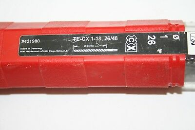 HILTI   hammer SDS Plus drill bit # 421980  Te-Cx 1-18,26/48 New