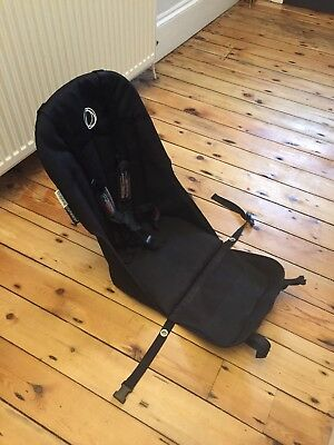 Bugaboo Cameleon 3 Seat Fabric Harness And Shoulder Straps In Black