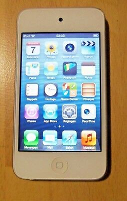 Apple iPod Touch 4th generación-Blanco (8GB)