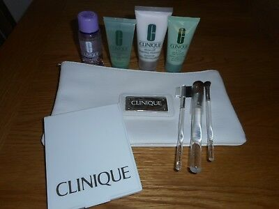 Clinique Travel Bag With Accessories. Brand New.