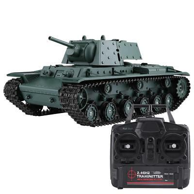 Henglong 3878-1 1/16 2.4G High Simulation Soviet KV-1 Additional Armored RC Tank