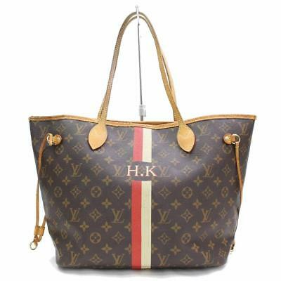 325ceba10da1 Louis Vuitton Neverfull Mon Monogram Mm Brown Coated Canvas Tote 867422