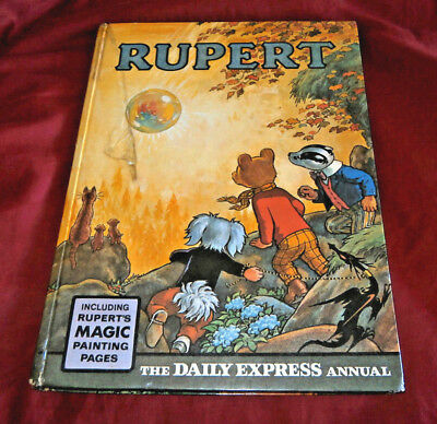 RUPERT ANNUAL 1968. In Good Condition. Spine Complete. Magic Painting Completed.
