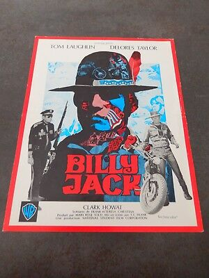 synopsis  BILLY JACK  TOM LAUGHLIN  DELORES TAYLOR